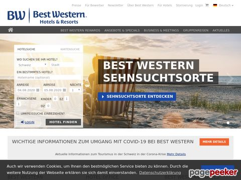 Best Western Swiss Hotels, Switzerland