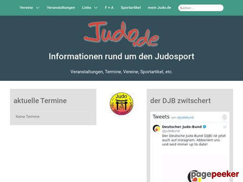 Judo online - Informationen rund um den Judosport
