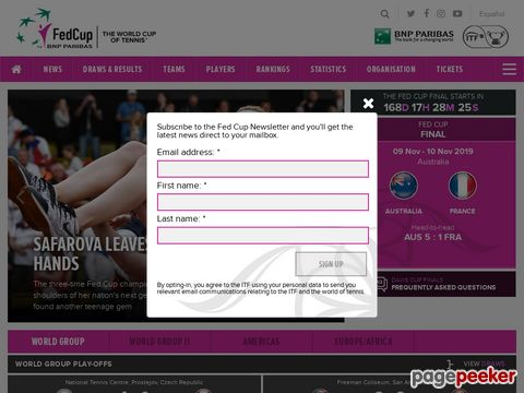 Fed Cup - The Official Website of the Fed Cup from the ITF