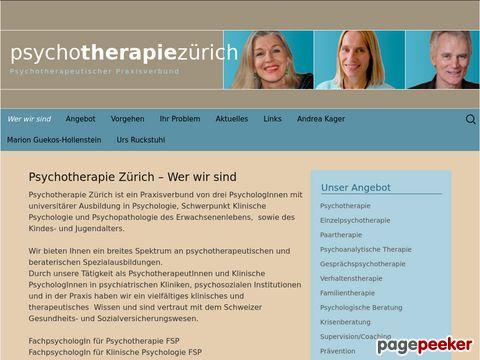 psychotherapie-zueri.ch - Psychotherapeutischer Praxisverbund in Zürich