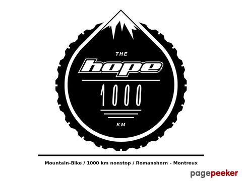 navad1000.ch  Mountain-Bike / 1000 km nonstop / Romanshorn - Montreux