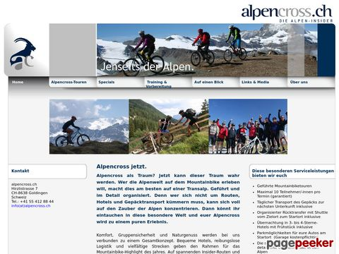 alpencross.ch - Alpencross per Mountainbike