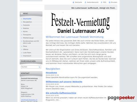 luda-festzelte.ch - Festzelt-Vermietung -- Daniel Luternauer
