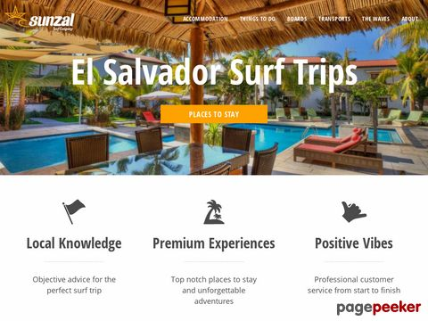 Surf El Salvador with Sunzal Surf Company