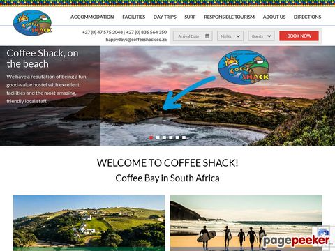 Coffee Shack - Backpacker - Coffee Bay - Wild Coast