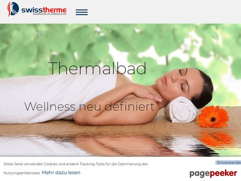swisstherme thermalbäder, wellness & fun