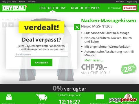 daydeal.ch - DayDeal Liveshopping - Ein Tag - Ein Deal