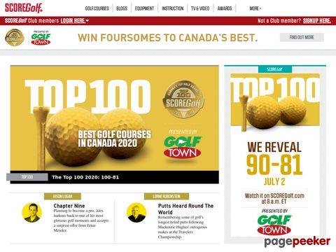 Golf Canada-SCOREGolf