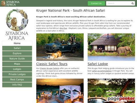 Kruger National Park | South Africa Safari and Lodging Guide