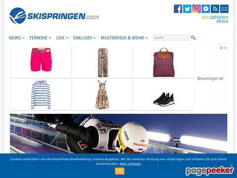 Skispringen.com - Informationsplattform zum Thema Skispringen