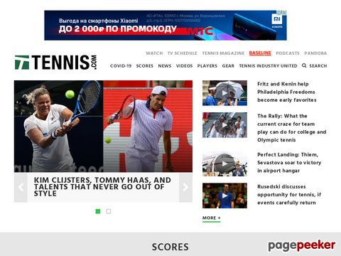 TENNIS.com - The Official Site of TENNIS Magazine