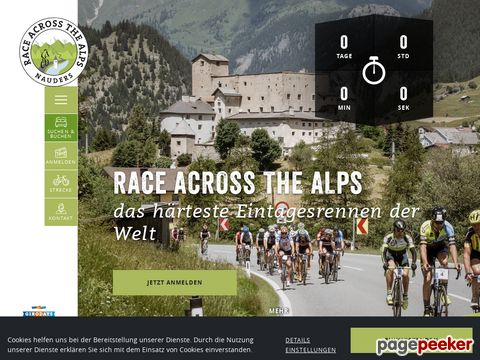 Race accross the alps - 13.600 Höhenmeter (Nauders, Österreich)