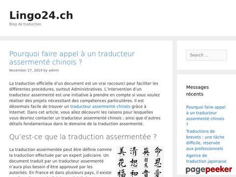 lingo24.ch - Übersetzungsbüro