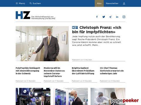 Handelszeitung.ch - Die Schweizer Handelszeitung