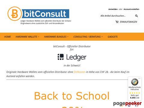 bitConsult.ch - offizieller Distributor des Ledger Produkte für die Schweiz