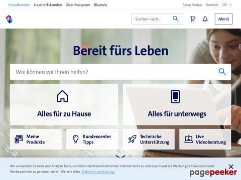Swisscom - der Schweizer Marktführer