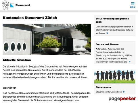 Steueramt des Kantons Zürichs
