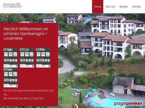 Ferienwohnungen Tessin Residenza Viramonte