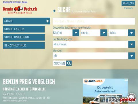 Benzin-preis.ch - Benzin-Preis Vergleich in der Schweiz