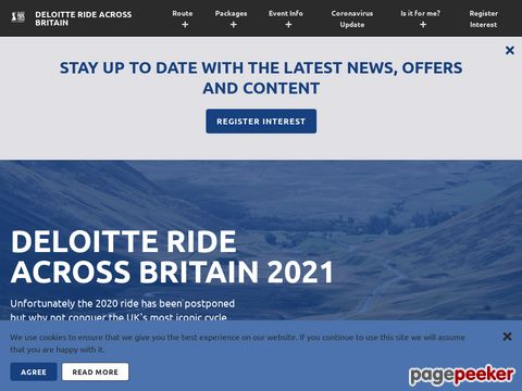 Deloitte - Ride Across Britain (Grossbritannien)