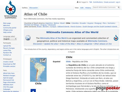 Atlas of Chile/ - Wikimedia Commons