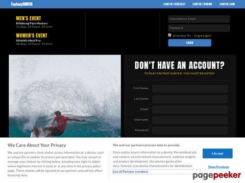 fantasysurfer.com - FantasySurfer - Surfer Mag