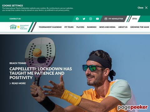 itftennis.com - International Tennis Federation (ITF)