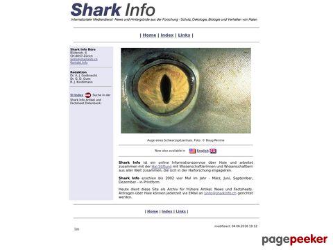 sharkinfo.ch - Alles über Haie - Hai-Informationsportal