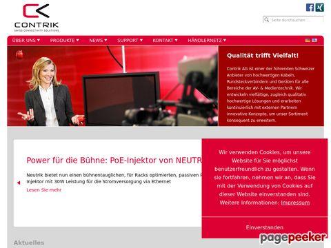 contrik.ch - die Schweizer Experten für Kabel