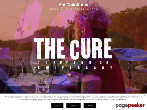 The Cure : Official Site