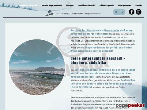 Cape Surf Hostel - Kapstadt | Unterkunft in Blouberg Südafrika