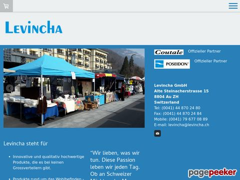 Levincha GmbH - Korkenzieher, Schuheinlage, Wollartikel