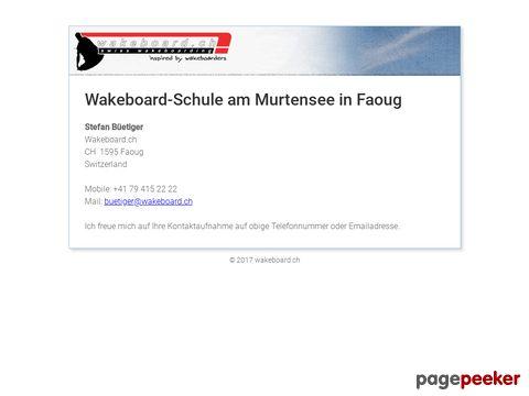 wakeboard.ch - swiss wakeboarding