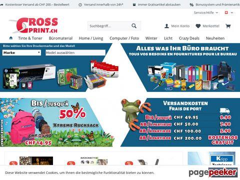 CrossPrint AG - Preiswerte Tinten und Toner online bestellen