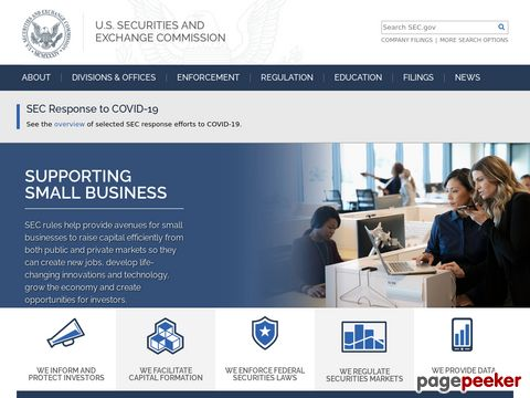 U.S. Securities and Exchange Commission (Home Page)
