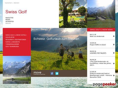 Swiss Golf: Urlaub in der Schweiz in einem ausgewählten Hotel