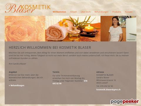 kosmetik-blaser.ch - Kosmetik Solothurn