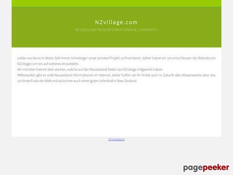 > Neuseeland Portal mit Experten-Forum <