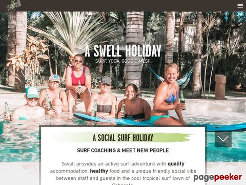 Swell Surf Camp, the Caribbeans #1 surf camp