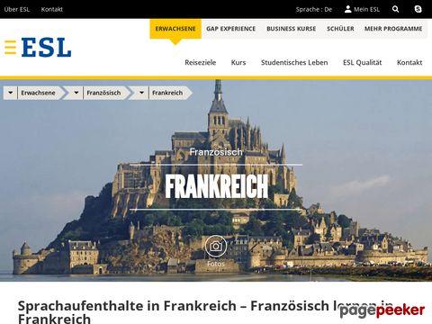 ESL - Sprachaufenthalt in Frankreich