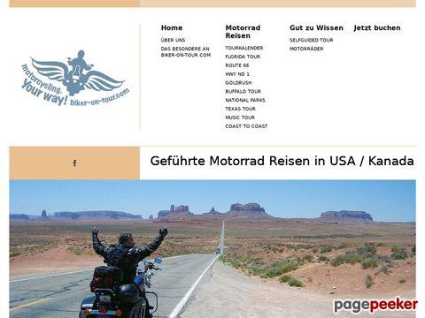 biker-on-tour.com - Erlebnis & Abenteuer USA