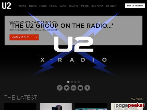 U2 (Official Website)