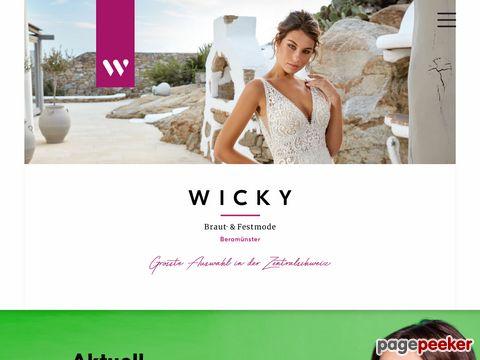 brautmode-wicky.ch - Hochzeitskleider | Cocktailkleider | Abendkleid - Brautmode Wicky