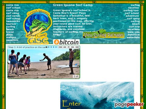 Costa Rica Surfing Vacations at Green Iguana Surf Camp