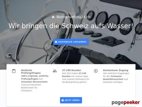 Onlinekurs: Bootsprüfung zum Schweizer Bootsführerschein