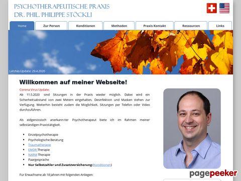 Psychotherapeutische Praxis Dr. Stöckli