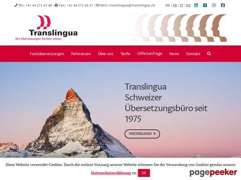 Translingua - Mit Übersetzungen Zeichen setzen