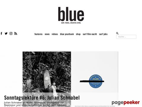 Surfmagazin | Travel Magazin | BLUEMAG