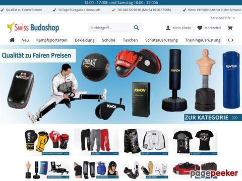 swiss-budoshop.ch - Der Kampfsport-Shop für Kampfsportartikel