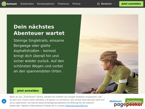 komoot – Plane deine Fahrradtour oder Wanderung